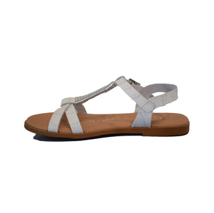 Oh My Sandals 4622 Λευκό