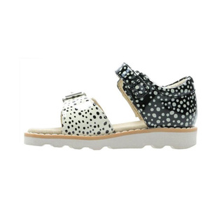 Clarks Crown Bloom Toddler 26141123 Λευκό-Μαύρο